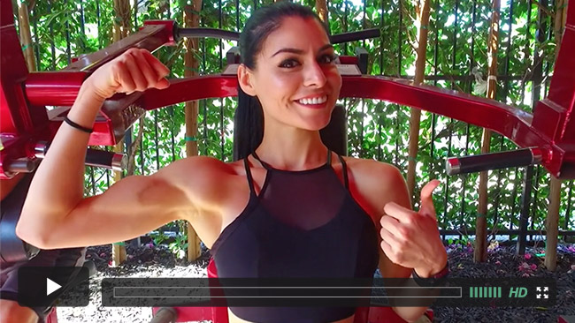 A Fitness and Health Story video
