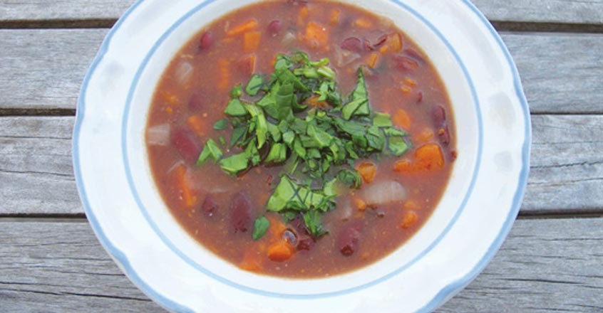 Kidney Bean and Yam Soup Recipe