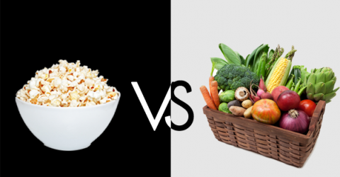 Popcorn Is Healthier than Vegetables?