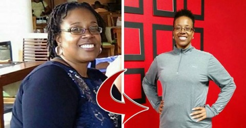 Patricia's Plant-Based Health Story - Before and After Photos