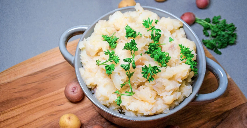 I love Garlic Mashed Potatoes