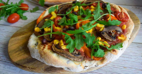 Plant-Based Pizza Dough