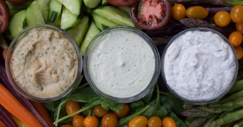 Vegan Dips & Dressings