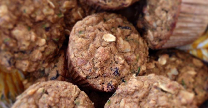 Zucchini Oat Muffins Recipe