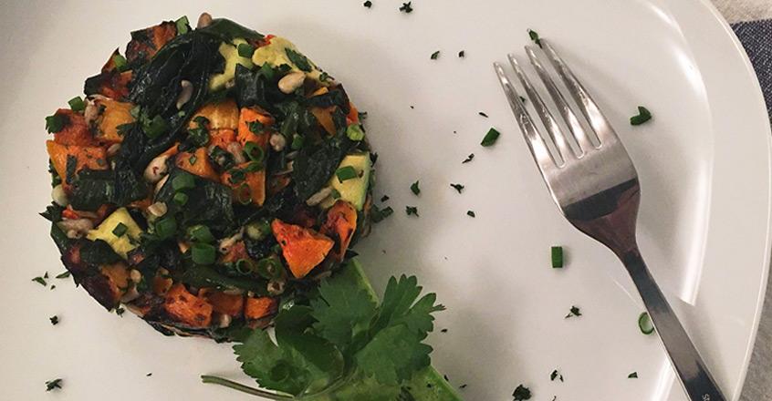 Roasted Butternut Squash and Sea Vegetable Salad Recipe