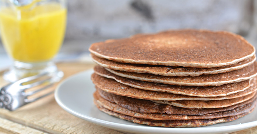 Sourdough Buckwheat Pancakes Center For Nutrition Studies