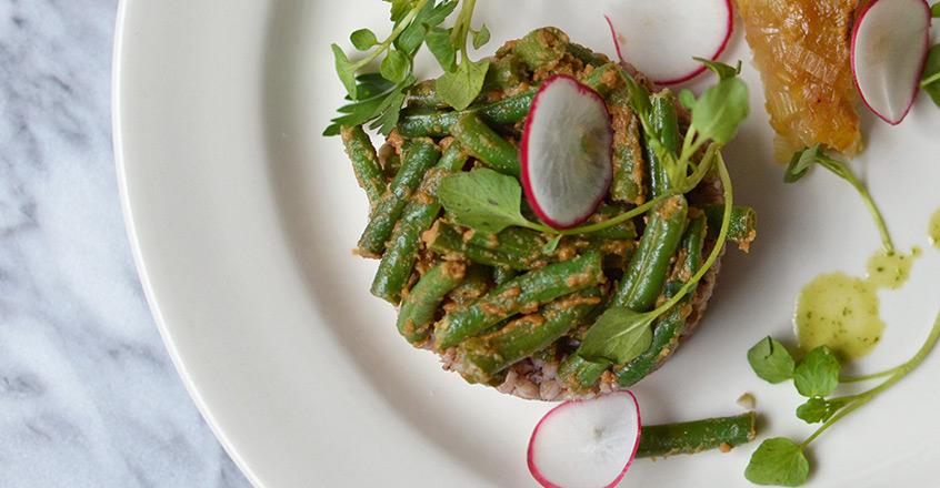 Tahini String Beans Plant-Based Recipes