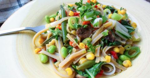 Baby Bok Choy & Vegetable Stir Fry