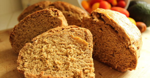 Traditional Irish Brown Soda Bread – Vegan Style