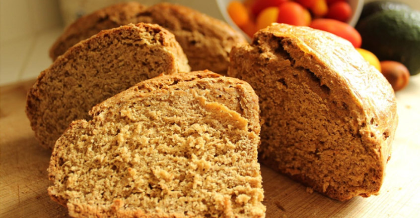 Traditional Irish Brown Soda Bread Vegan Style Plant Based Recipe