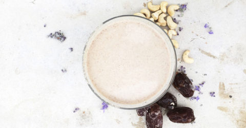 3-Ingredient Nut Milk
