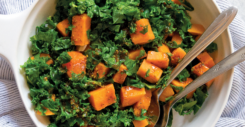 Sweet Potato and Kale Sauté