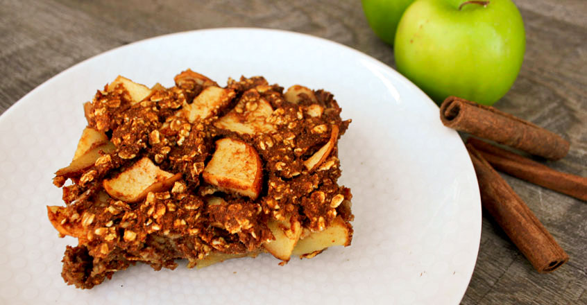 Apple Pumpkin Pie Bake