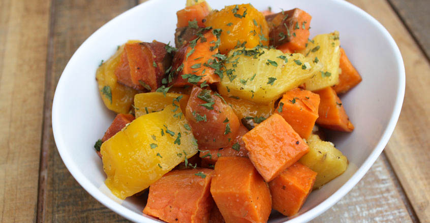 Quick & Easy Tropical Sweet Potatoes