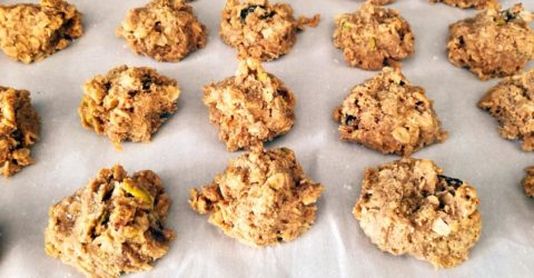 Easy Oatmeal Holiday Cookies