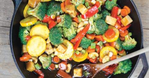 Ultimate Vegetable Teriyaki Stir-Fry