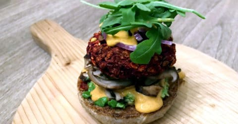 Awesome Beet Burgers