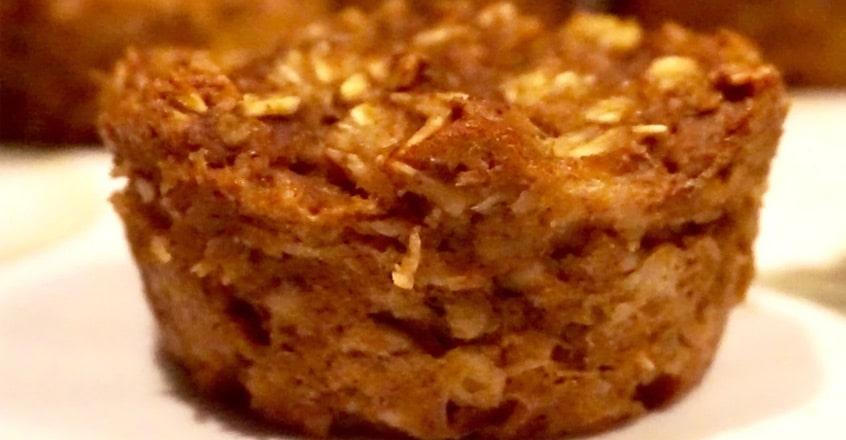 Pumpkin Spice Oatmeal Muffin Cups