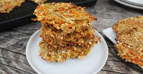 Potato Carrot Latkes