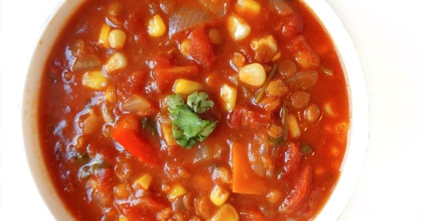 One-Pot Plant-Based Lentil Chili
