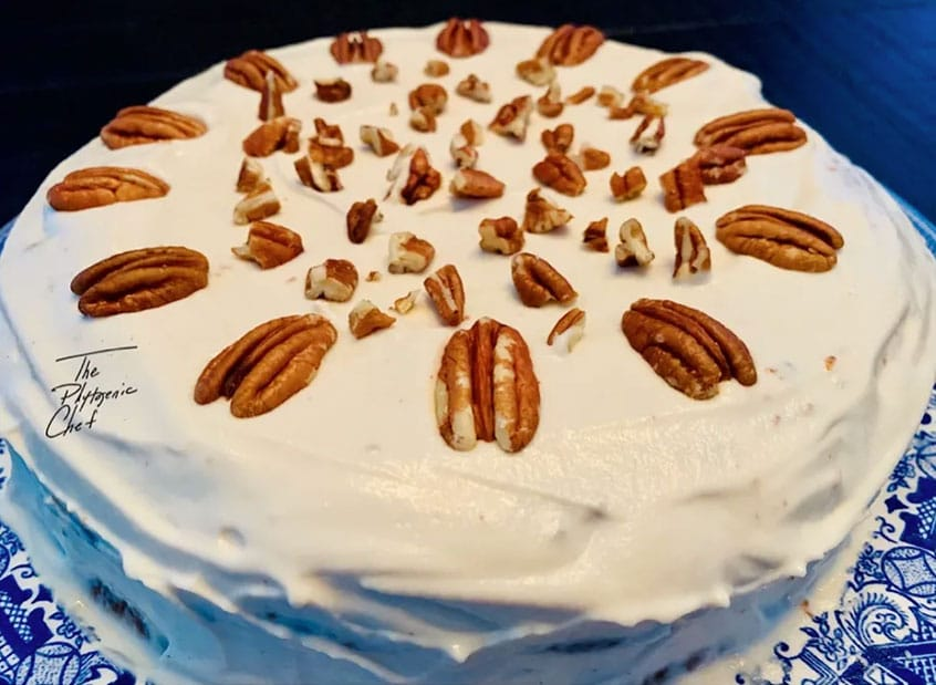 Carrot Cake With Silken Buttercream Frosting