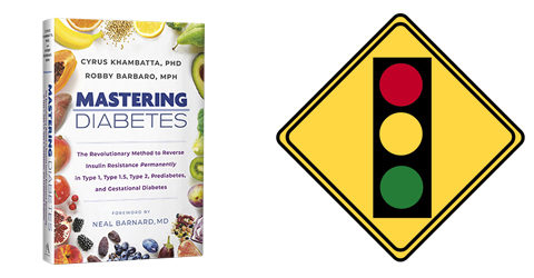 Mastering Diabetes – Green, Yellow, Red Light Foods to Reverse Insulin Resistance
