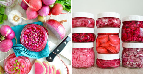 How to Make Quick-Pickled Veggies