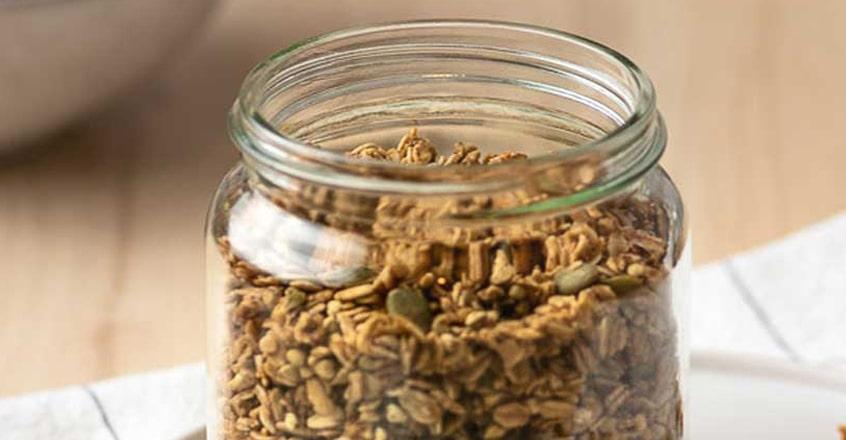 Oil Free Crunchy Buckwheat Granola