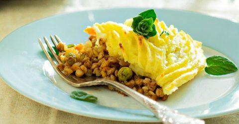 Vegetable Curried Shepherd's Pie