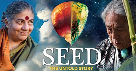 "Movie poster for ""SEED"""