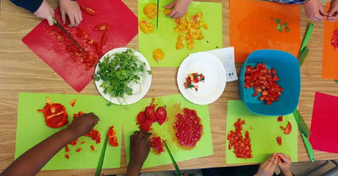 Farm to Fork Program Creates Lifelong Healthy Eating