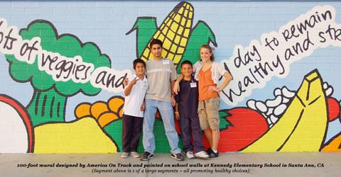 n Track Program Brings Plant-Based Nutrition Education to California